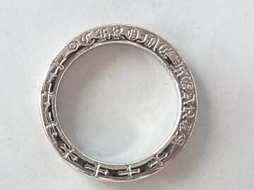 クロムハーツChrome Heartsリングk18k指輪14号ゴールド金WG
