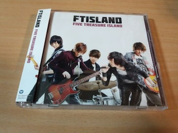 FTISLAND CD「FIVE TREASURE ISLAND」フィッツランド韓国K-POP●