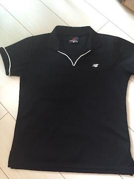 New balance☆吸汗速乾半袖Tシャツ☆黒☆ブラックMサイズ