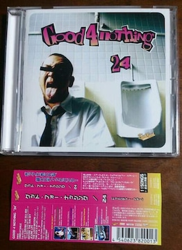 (CD)GOOD 4 NOTHING/グッドフォーナッシング☆24★帯付き♪