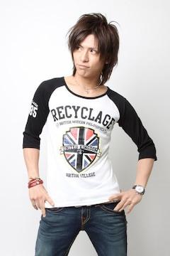 RECYCLAGE(ルシクラージュ)佐藤歩着ラグランTシャツ/M