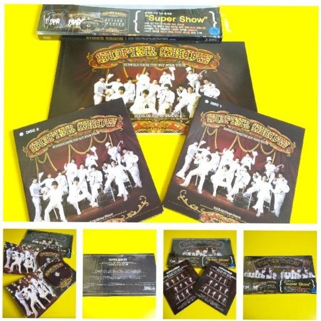 DVD★完全収録!!Super Junior 1st Concert2008  < タレントグッズの