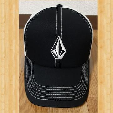 VOLCOM ボルコム CAP 刺繍 帽子  ストーンロゴ メッシュキャップ kj