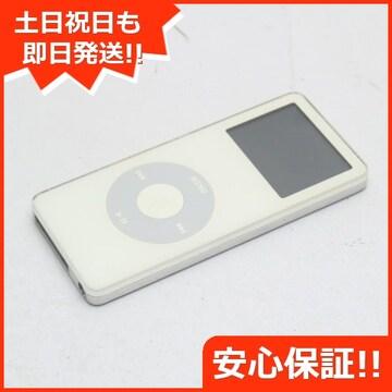 ●安心保証●良品中古●iPOD nano 第1世代 2GB ホワイト●