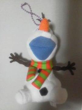 新品〓アナと雪の女王★ボールチェーンマスコット♪オラフ