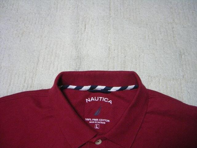 男 NAUTICA ノーティカ 半袖ポロシャツ L < ブランドの