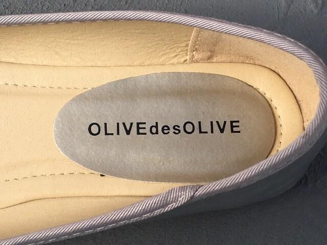 OLIVE des OLIVEシルバーパンプス < 女性ファッションの