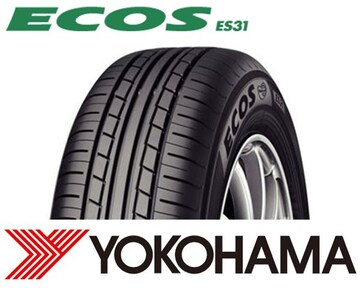 ★195/55R15 緊急入荷★ヨコハマ ECOS ES31 新品タイヤ 4本セット