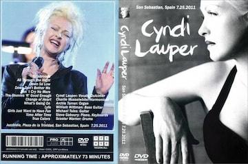 CYNDI LAUPER SPAIN 7.25.2011 シンディ・ローパー