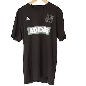 新品◆送料無料◆adidas黒SPORT ID Tシャツ(О)
