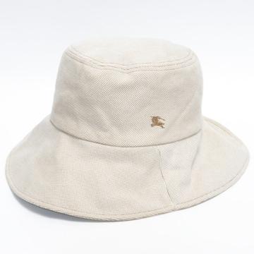 美品Burberryバーバリー 帽子 ハット ベージュ系 良品 正規品