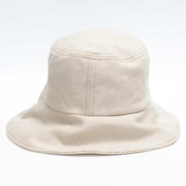 美品Burberryバーバリー 帽子 ハット ベージュ系 良品 正規品 < ブランドの