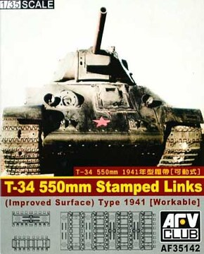 1/35 T34/76 550mm  キャタピラ