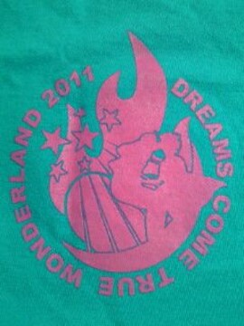 DREAMS COME TRUE ドリームズカムトゥルー コンサート 大阪 2011 Tシャツ ブルー L