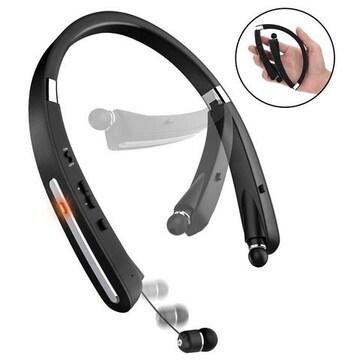 Bluetooth イヤホン高音質 防汗 スポーツネックバンド型