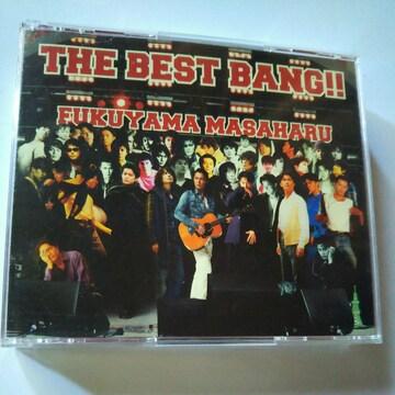 CD4枚組福山雅治THE BEST BANG!!〒送料無料