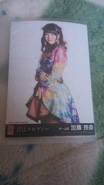 AKB48君はメロディー加藤玲奈特典写真