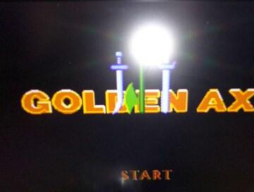 GOLDEN AXE�V ゴールデンアックス3 カセットのみ