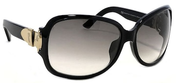 美品正規グッチレディースサングラスブラック黒ロゴク