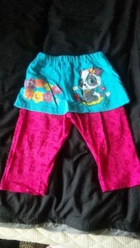 ★新品レギ付きスカート110〜★