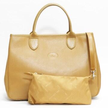 Longchampロンシャン トートバッグ ポーチ付き 良品 正規品