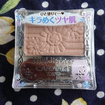 【値下げ不可】新品未開封!!CANMAKE ハイライター 06