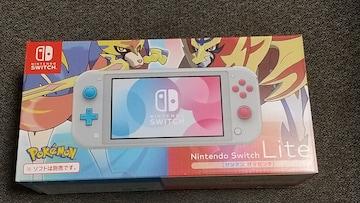 Nintendo Switch Lite ザシアン・ザマゼンタ  保証あり 美品