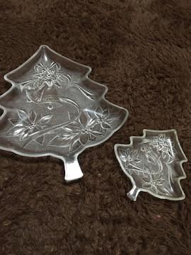 未使用 SOGAガラス クリスマスプレートセット