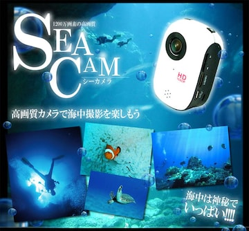 ��1200万画像 防水仕様 スポーツカメラ MI-DV1000