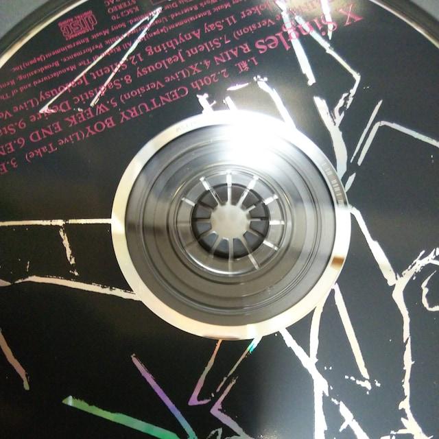 ベストCD X SINGLES 帯あり エックス X−JAPAN < タレントグッズの
