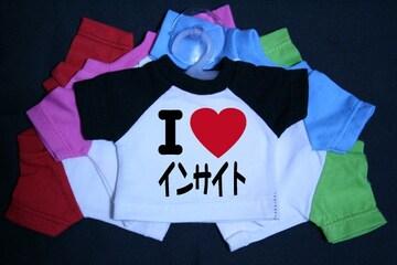 I LOVE ミニTシャツ インサイト 各色有り
