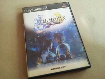 PS2☆ファイナルファンタジーXインターナショナル☆FF10。
