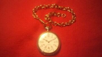 ☆NON貴重金属製☆【懐中時計の鎖 金色】鎖のみです! A