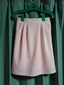 タイトスカート★薄いピンク★