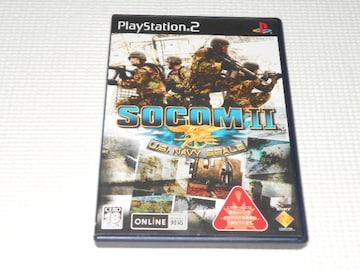 PS2★SOCOM 2 U.S. NAVY SEALs 見本盤