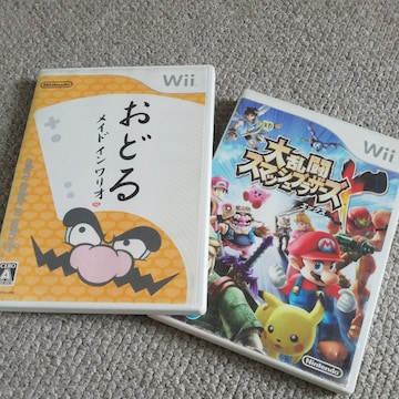 Wiiソフト2本組