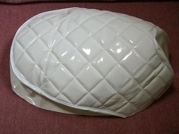 ジャイロUP TA01 エナメル調カバー 白