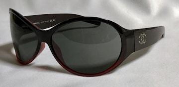 正規美 hyde着 同型 CHANELシャネル スタッズココマークサングラス黒赤 ブラックレッド