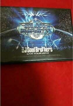 美品 BLUE IMPACT live tour 2014 DVD 三代目 J Soul Brothers