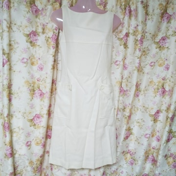 Pinkygirl ★姫系ワンピース【日本製】中古品  オフホワイト