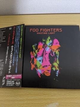 FOO FIGHTERS(フー・ファイターズ)「ウェイスティング・ライト」オルタナティヴ・ロック