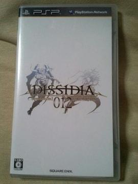 PSPソフト『ディシディアデュオデシム ファイナルファンタジー』