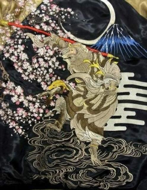 花旅楽団/孫悟空/スカジャン/ssj-022/サトリ < 男性ファッションの