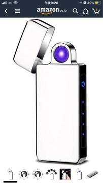 プラズマライター 旋風アーク点火 USB充電 電子ターボライター