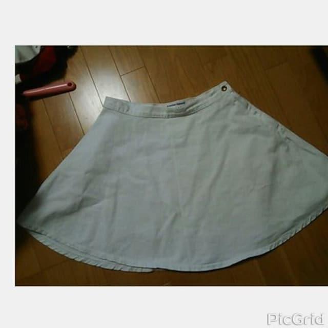 ☆American Apparel サークルデニムスカート2枚set☆ < ブランドの