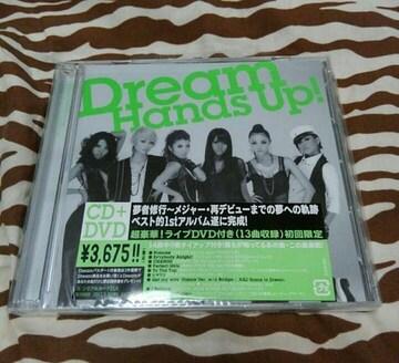送込Dreamラストアルバム/Hands Up!初回限定盤DVD ami e-girls