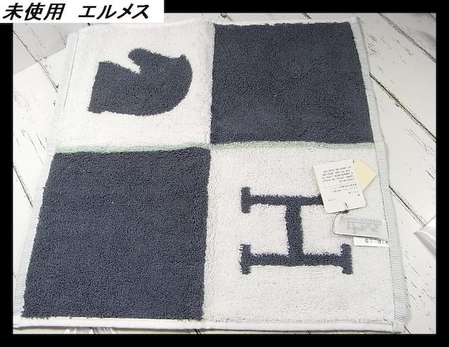 500スタ★本物正規未使用訳有エルメス ハンドタオル