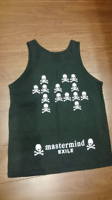 EXILE×mastermind「Tour 2009/The Monster/スカル柄タンクトップ」 < タレントグッズの
