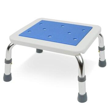 コンパクト お風呂椅子 ブルー