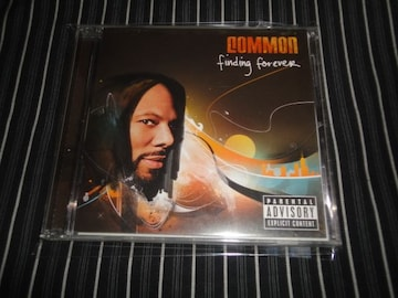 COMMON『FINDING FOREVER』美品(D'ANGELO,KANYE WEST,LILY ALLEN